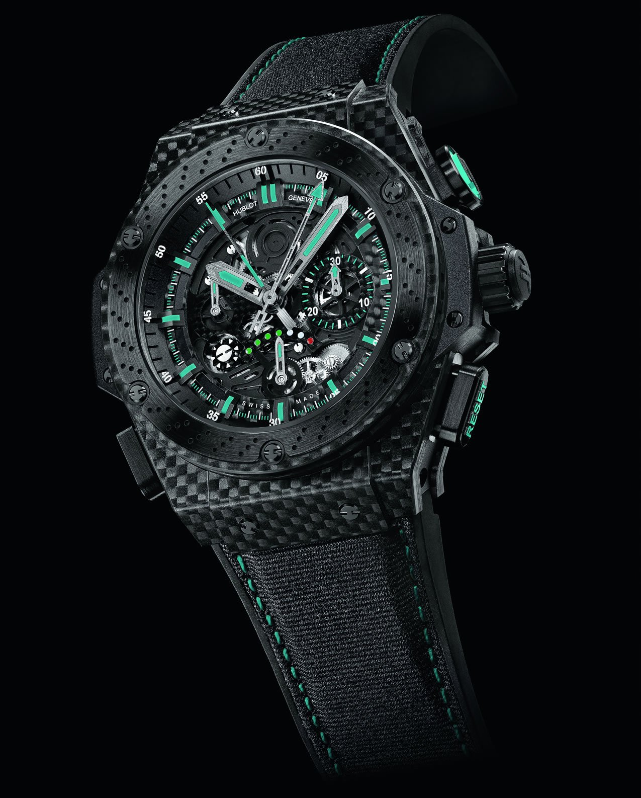 Hublot F1 King Yas Marina Circuit 4 on yas marina circuit