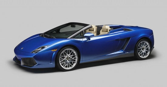 Lamborghini Gallardo LP 550-2 Spyder finally debuts at the Los Angeles Auto Show
