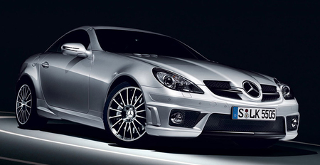 2009 Mercedes-Benz SLK 55 AMG unleashed