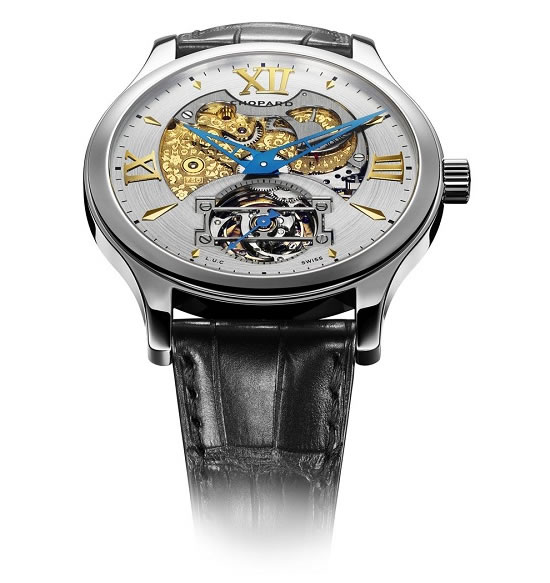 Chopard L.U.C Tourbillon Esprit de Fleurier 1 Chopard Celebrates 150 years