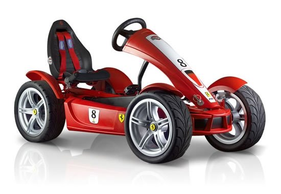 Ferrari FXX Racers Pedal Go Kart Ferrari FXX Racers Exclusive pedal Go kart is the best Christmas toy