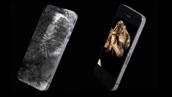 iPhone 4 History Edition is the worlds first Dinosaur mobile phone