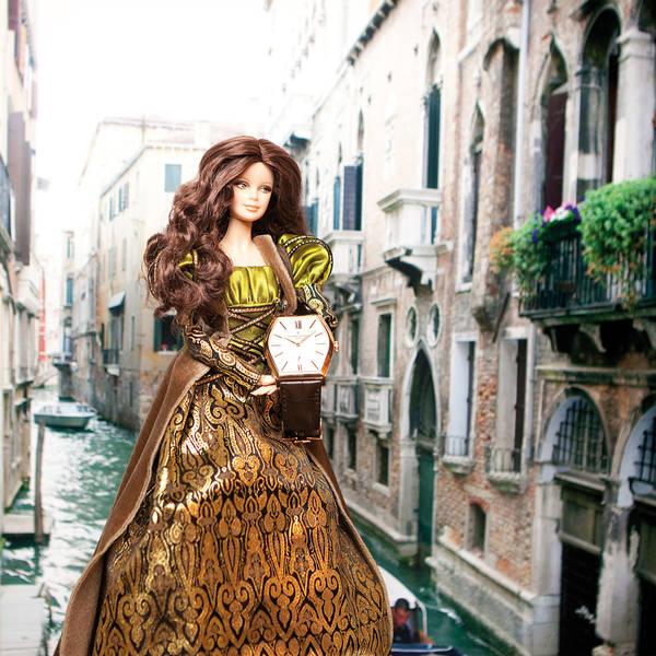 Eight Barbie Dolls Captured Wearing The Most Beautiful