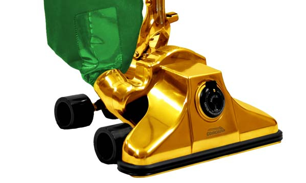 Gold plated vacuum cleaner is the worlds most expensive at $1 million