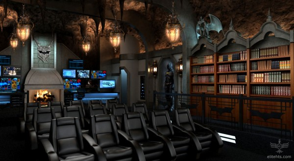 Fancy a Dark Knight themed custom home theater for $2 million