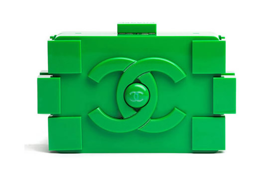 The Chanel Lego clutch brings innocence to the runway