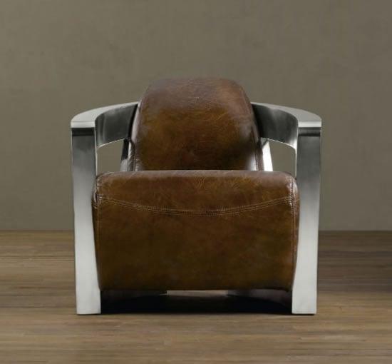 Leather Chair Tribute To 1938 Bugatti Atlantic Coupe