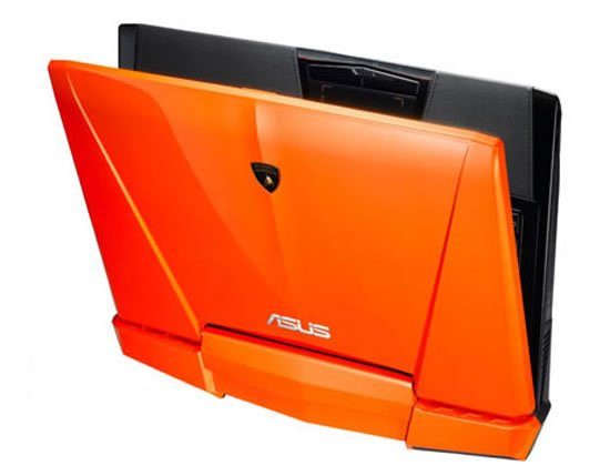 ASUS-Automobili Lamborghini VX7 Notebook Revamped To Impress