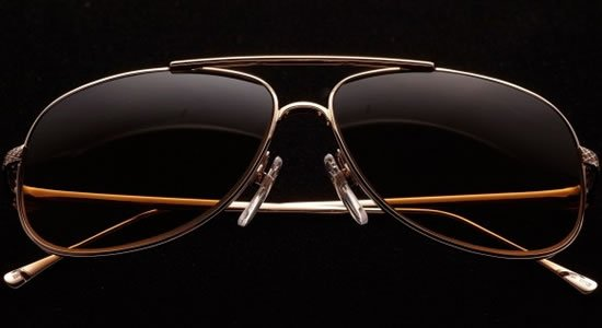Estedes Gold and Platinum sunglasses to compliment your Bentley