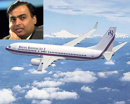 Mukesh Ambani acquires a Boeing Business Jet 2 for $73 million