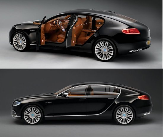 Images of the Bugatti Galibier 16C Concept car
