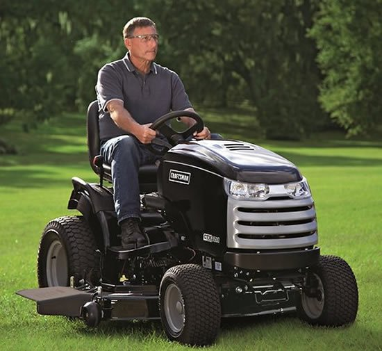 CTX, the Cadillac of lawn tractor heads to Detroit Auto Show