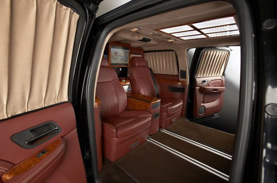 Cadillac Escalade Esv Xxxl Is Stretched Into A Vip Business Limousine