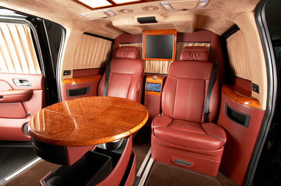 Cadillac Escalade Esv Xxxl Is Stretched Into A Vip