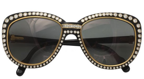 The $25,000 Cartier Paris Sunglasses glam up with gold and diamonds