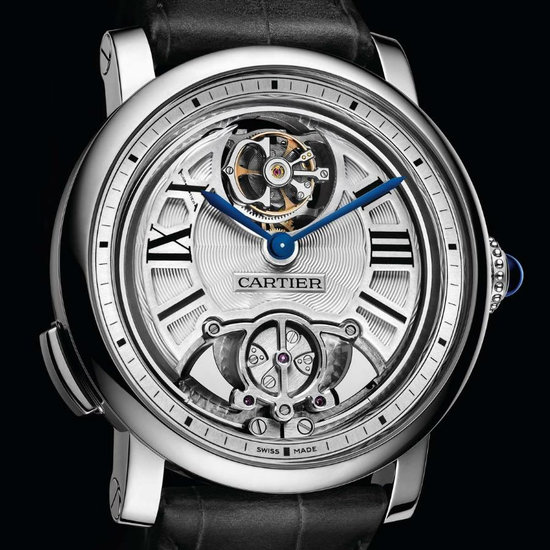 Cartier Rotonde Minute Repeater Flying Tourbillon does a Pre-SIHH Debut