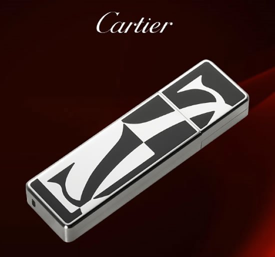 Cartier's USB key is the most expensive way to carry 4GB data
