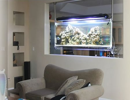 Spacearium is Ceiling Mounted Aquarium for your den | Luxurylaunches