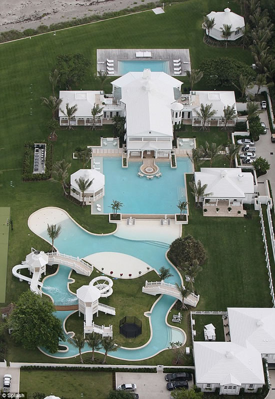 Celine Dion's $20 Million Home Features A Water Park