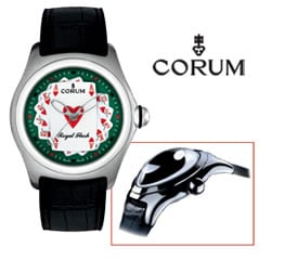 Corum Royal Flush Bubble  Official Timepiece of World Series of Poker 2006