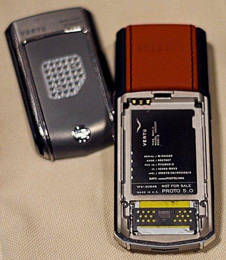 $4600 vertu nurburgring titanium phone turns up on ebay.