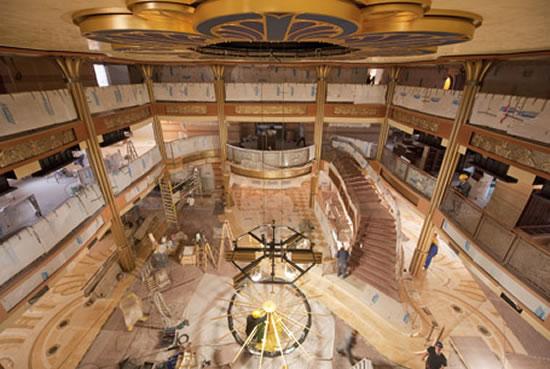 A sneak peek inside the Disney Dream cruise liner