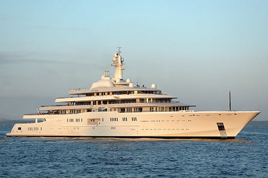 The 10 largest yachts in the world