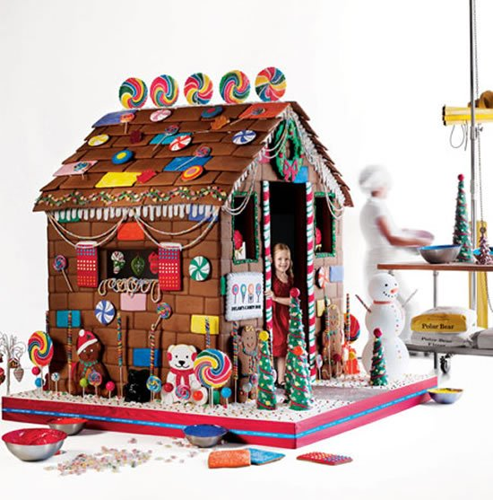 Edible Gingerbread Playhouse is the most delicious offering in the Neiman Marcus Christmas Book 2010