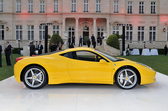 First Ferrari 458 Italia to hit US shores auctioned for Haiti
