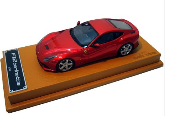 Ferrari F12 Berlinetta 1:43 scale model makes for a perfect mantelpiece ornament