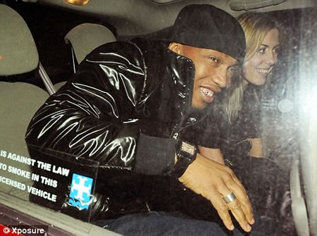 Footballer El Hadji Diouf S Gold Cadillac Spotted In