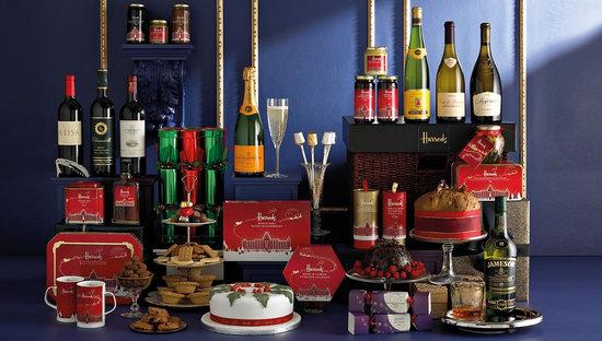 Harrods 2011 Christmas hamper is a treat for everyone