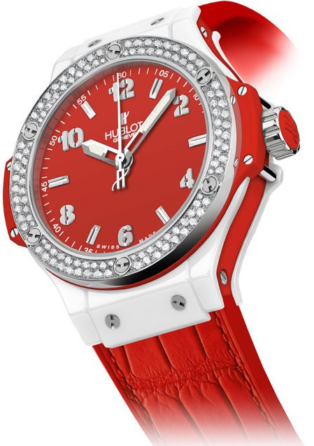 Get yourself a Big Bang in Red all thanks to Hublot!