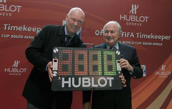 Hublot celebrates  FIFA World Cup 2010 with a special Hublot world experience