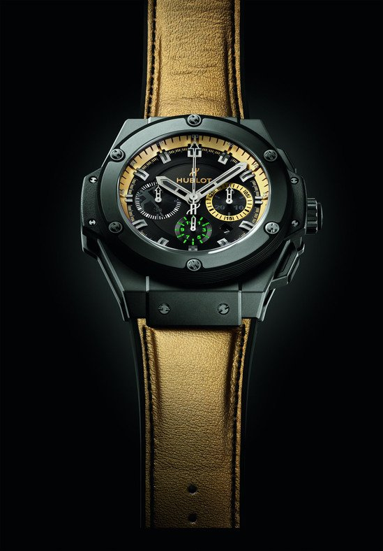 Hublot King Power Usain Bolt unveiled to honor the worlds fastest man