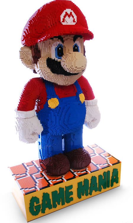 Tallest LEGO Mario statue stands on eBay for $3,289