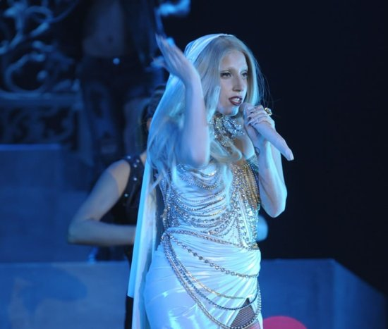 Lady Gaga performs at F1 after party in Tarun Tahiliani outfit
