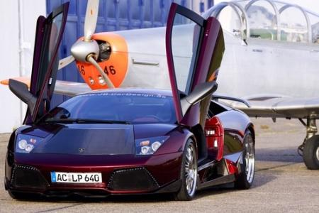 Blood to Black Diamond Lamborghini LP 640 costs $740,000
