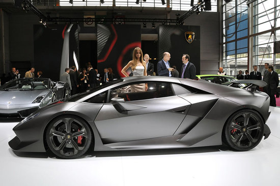 Lamborghini Sesto Elemento Concept Up For Sale