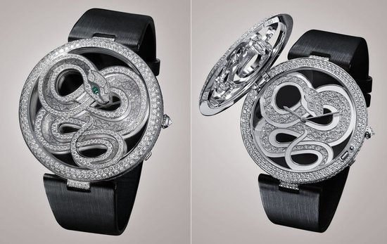 Le Cirque Animalier de Cartier collection of bejeweled timepieces