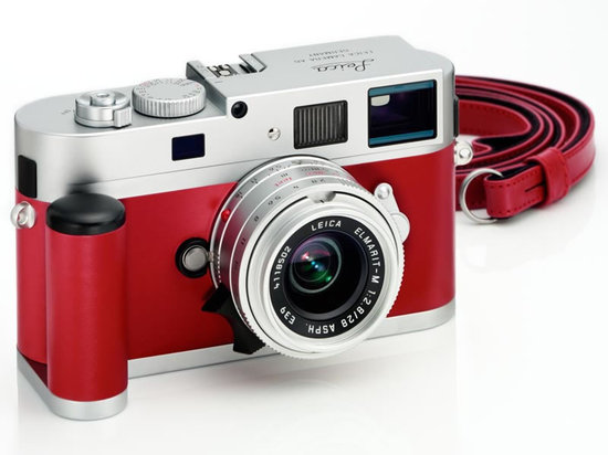 Leica M9 P silver red leather set limited edition cameras are for Japan only
