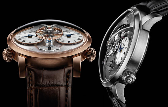 MB & F Legacy Machine No.1 boasts of the world's first vertical power reserve