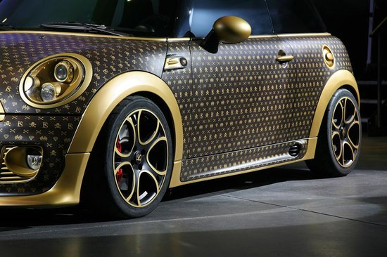 MINI Cooper JCW Gets A Louis Vuitton Style Makeover By CoverEFX