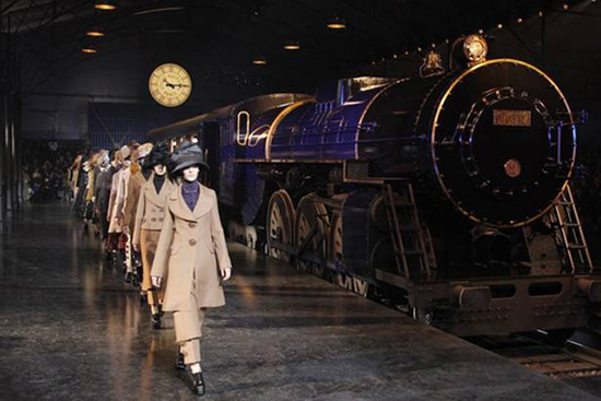 Louis Vuitton train at Paris Fashion Week is rumored to be worth $8 million