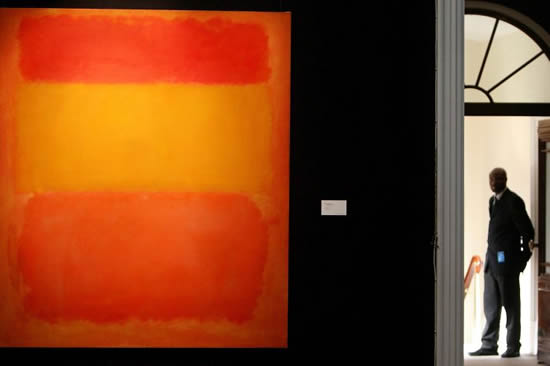 Mark Rothkos painting sold for record $86.9 million at Christies New York