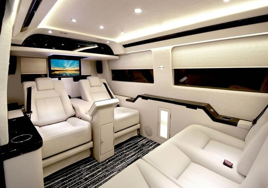 Mercedes Work Van >> Mercedes-Benz Sprinter JetVan is the Air Force One of the roads