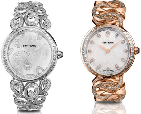 Montblanc Collection Princesse Grace de Monaco blooms with two haute joaillerie watches