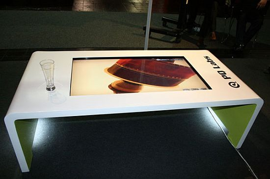multi touch coffee table
