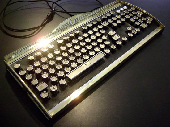 New Yorker Art Deco Keyboard takes cue from the iconic Chrysler Building
