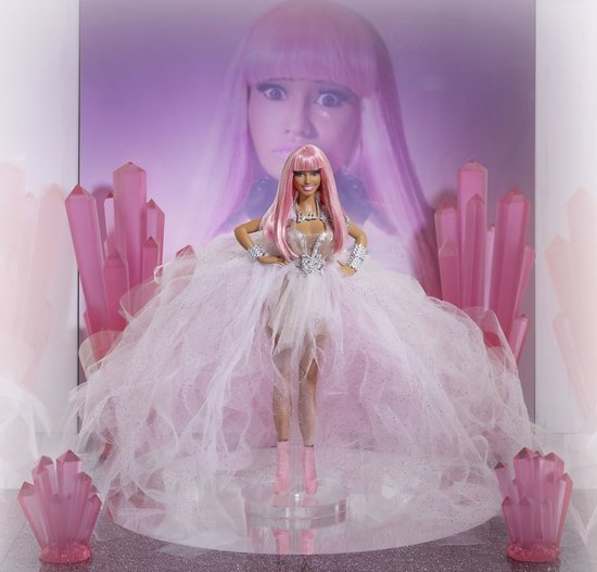 Katy Perry and Nicki Minaj get Barbie dolls designed after them for charity